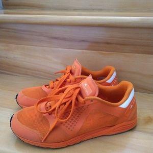 Adidas Stella McCarthy orange shoes size 5
